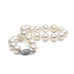 White Freshwater Pearl Bracelet, 7.5-8.0mm