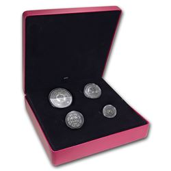 2018 Canada 4-Coin Silver Before Confederation: Colonial Currency