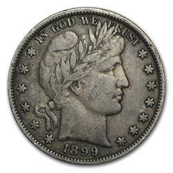 1899 Barber Half Dollar VF