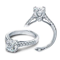 Natural 2.02 CTW Diamond Engagement Halo Ring 14KT White Gold