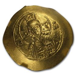 Byzantine Gold Histamenon Michael VII (1071-1078 AD) MS NGC