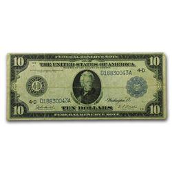 1914 (D-Cleveland) $10 FRN Fine