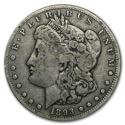 1893-CC Morgan Dollar VF
