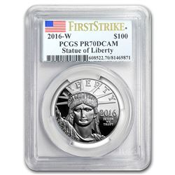 2016-W 1 oz Proof Platinum American Eagle PR-70 PCGS (FS)