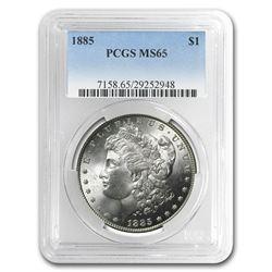 1885 Morgan Dollar MS-65 PCGS