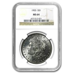 1903 Morgan Dollar MS-64 NGC