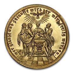 (1720) German State Nurnberg Gold Medallic Ducat MS-62 PCGS
