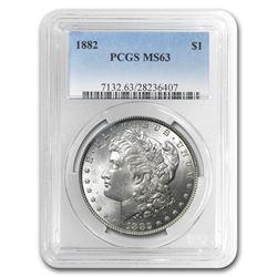 1882 Morgan Dollar MS-63 PCGS