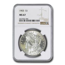 1903 Morgan Dollar MS-67 NGC