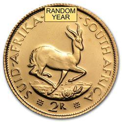 South Africa Gold 2 Rand AU (Random)