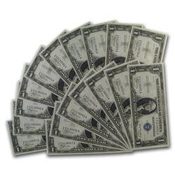 1935 $1.00 Silver Certificate CU (17 Consecutive Notes)