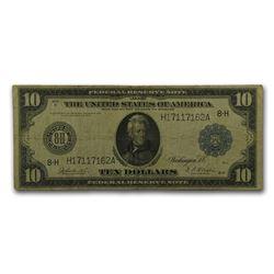1914 (H-St. Louis) $10 FRN Fine