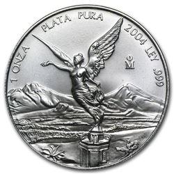 2004 Mexico 1 oz Silver Libertad BU