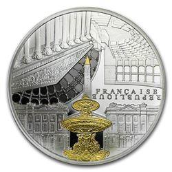 2017 5 oz Silver UNESCO (Concorde & Assemblée Nationale)