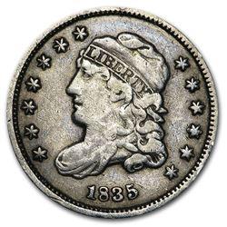 1835 Half Dime Small Date/Small 5¢ VF