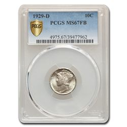 1929-D Mercury Dime MS-67 PCGS (FB)