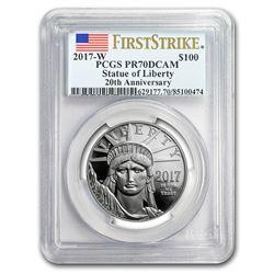 2017-W 1 oz Proof Platinum American Eagle PR-70 PCGS (FS)
