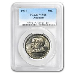 1937 Battle of Antietam Anniversary Half Dollar MS-65 PCGS
