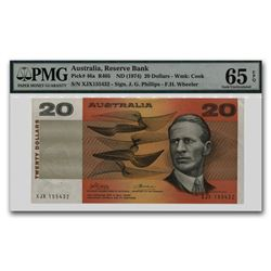 1974 Australia 20 Dollars CU-65 EPQ PMG