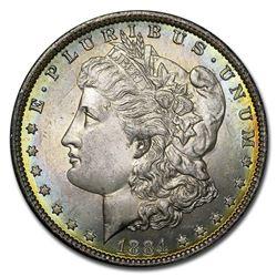 1884-O Morgan Dollar BU (Beautifully Toned)