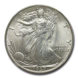 1937 Walking Liberty Half Dollar MS-65 NGC