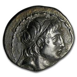 Kingdom of Cappadocia Silver Drachm Antioch. VII 138-129 BC Ch XF