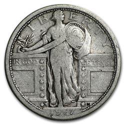 1917-S Standing Liberty Quarter Type-I Fine