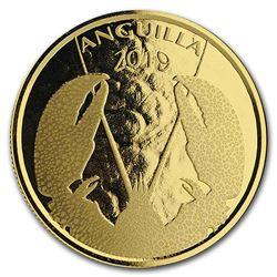 2019 Anguilla 1 oz Gold Lobster BU