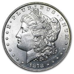 1878 Morgan Dollar 8 Tailfeathers BU