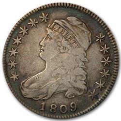 1809 Capped Bust Half Dollar VF