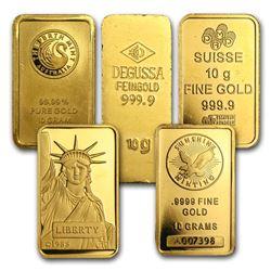 10 gram Gold Bar - Secondary Market
