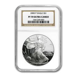2000-P Proof Silver American Eagle PF-70 NGC