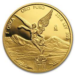 2018 Mexico 1 oz Proof Gold Libertad