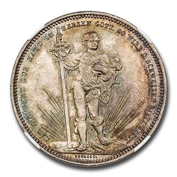 1879 Switzerland Basel Silver 5 Francs Shooting Thaler MS-65 NGC