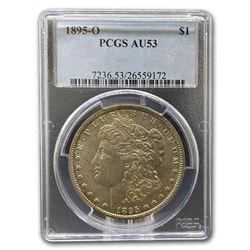 1895-O Morgan Dollar AU-53 PCGS