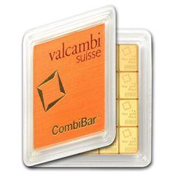"20x 1 gram Gold CombiBar""¢ - Valcambi (In Assay)"