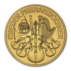 2014 Austria 1 oz Gold Philharmonic BU