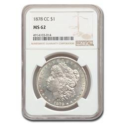 1878-CC Morgan Dollar MS-62 NGC