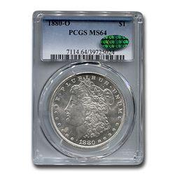 1880-O Morgan Dollar MS-64 PCGS CAC