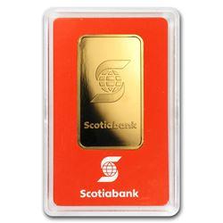 1 oz Gold Bar - Scotiabank (In Assay)