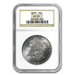 1879 Morgan Dollar MS-63 NGC