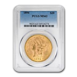 1894 $20 Liberty Gold Double Eagle MS-62 PCGS