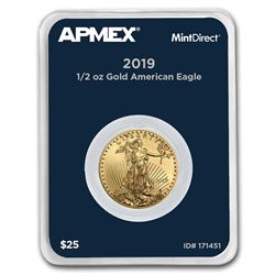2019 1/2 oz Gold American Eagle (MintDirect® Single)