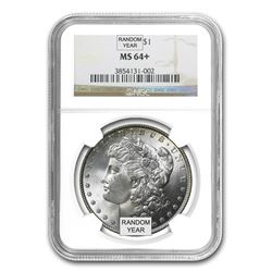 1878-1904 Morgan Dollars MS-64+ NGC