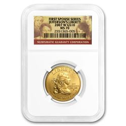 1/2 oz Gold First Spouse Coins MS-70 NGC (Random)