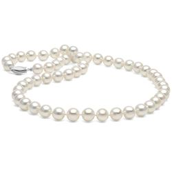 White Elite Collection Pearl Necklace, 7.5-8.0mm