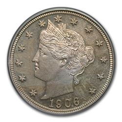 1906 Liberty Head Nickel PR-64 PCGS