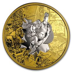 2017 Canada 3 oz Silver $50 DC Comics: The Brave and the Bold