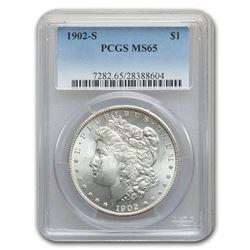 1902-S Morgan Dollar MS-65 PCGS