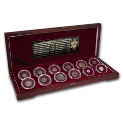 Christianity Through The Ages 12-Coin Collection